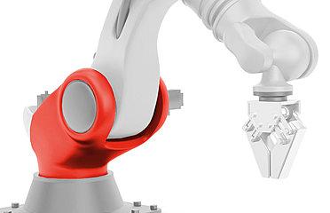 Machinenbau Greifarm Roboter