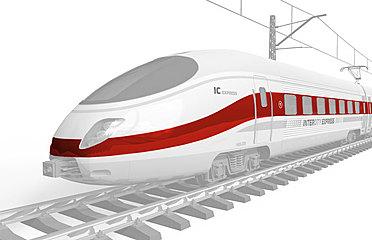 Schienenfahrzeuge Zug ICE