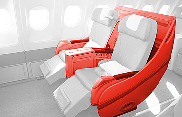 Luftfahrzeuge Flugzeug Sitze