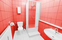 Bau Architektur Badezimmer