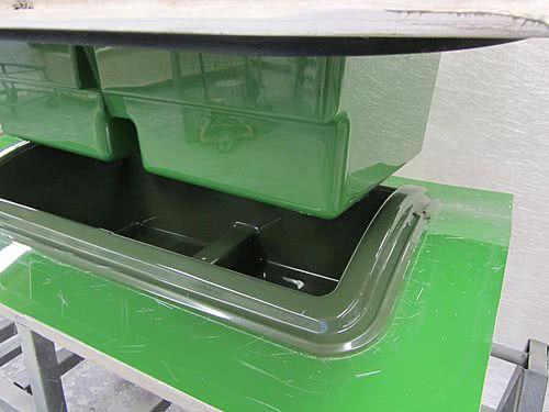 RTM Resin Transfer Moulding Kompositwerkstoff Sandwichverbund