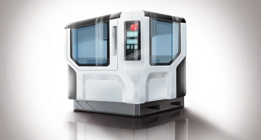 Maschineneinhausung Schallschutzkabine Einhausung: freie Formgestaltung mit GFK CFK und über 10 weitere Materialvorteile